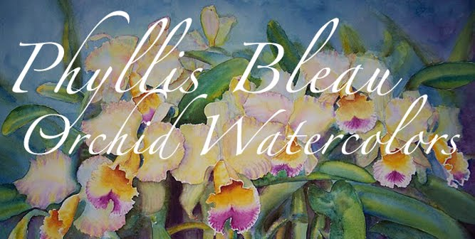 Phyllis Bleau Orchid Watercolors