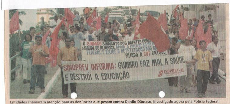 JOÃO PEREIRA PARTICIPANDO DA OPERAÇÃO GABIRU EM MARECHAL DEODORO - AL