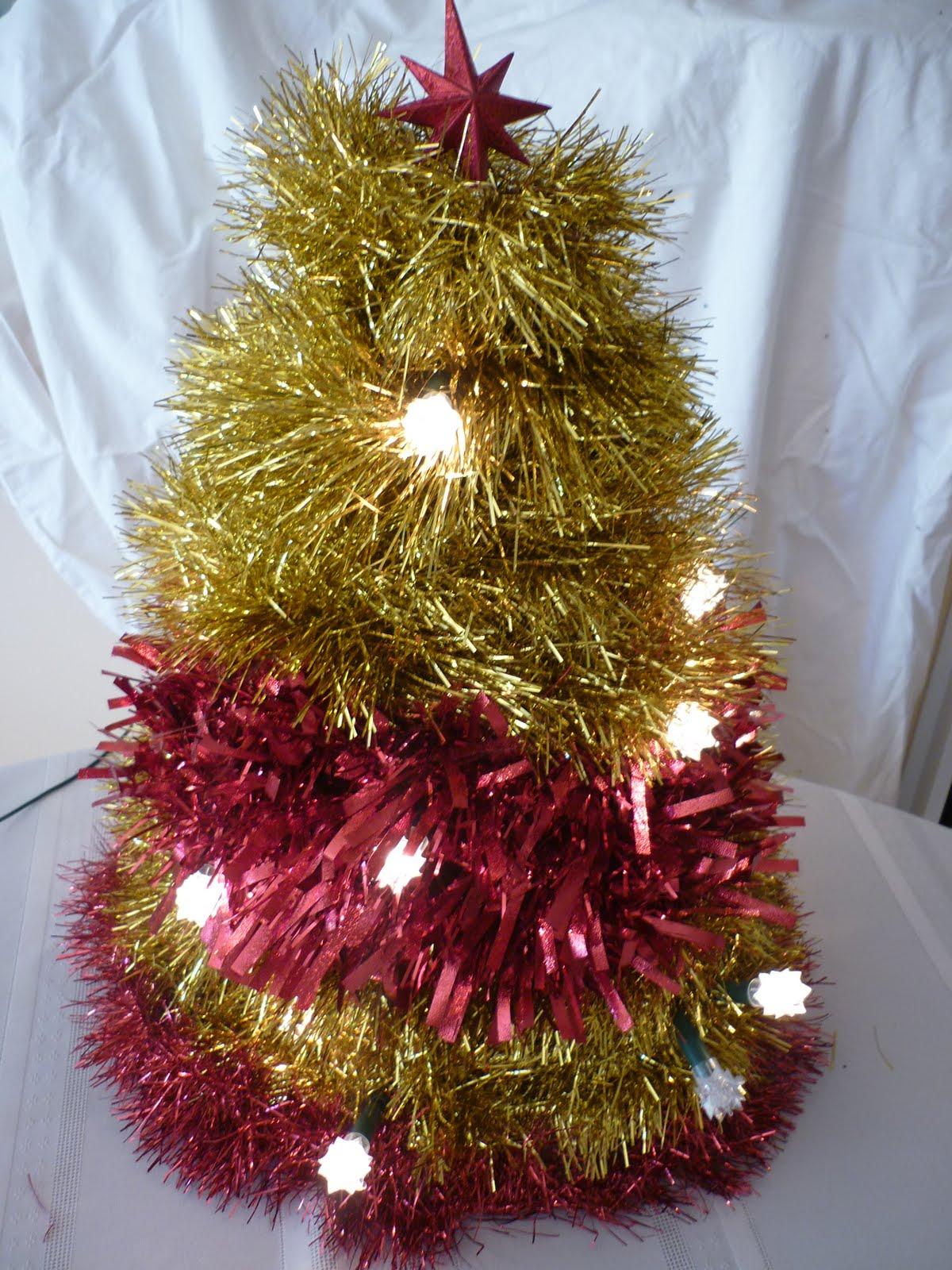 Savvy mumma tinsel christmas trees