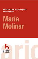 Diccionario María Moliner