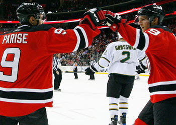 Goon s World  Zach Parise and Travis Zajac react to Sioux name change 96cd06bdd