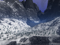 Mountains Vally HD Desktop Wallpaper