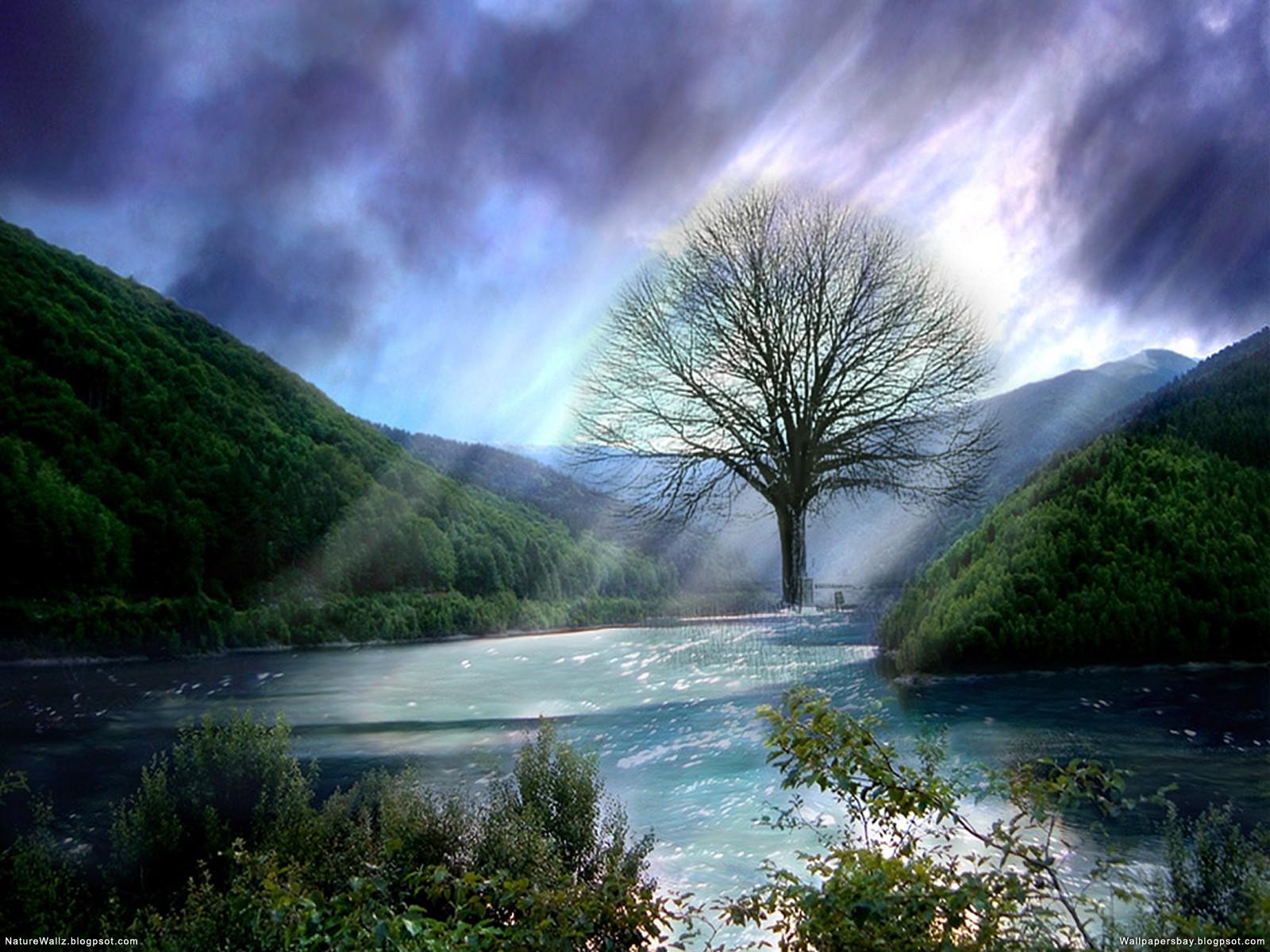 La source Blanche . Fantasy-Dream-Landscapes-Wallpapers-43+(wallpapersbay.blogspot.com)