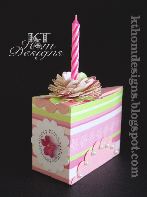 Kt Hom Designs Another Cake Slice Box