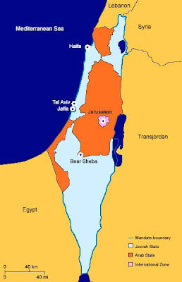 Palestine - UN Partition Plan