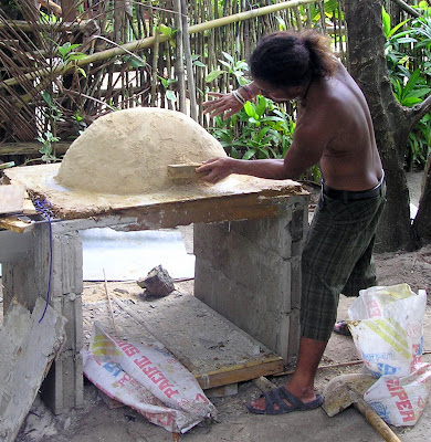 earth oven Siargao Island Philippines