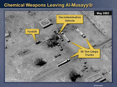 Faked chemical weapons in Iraq