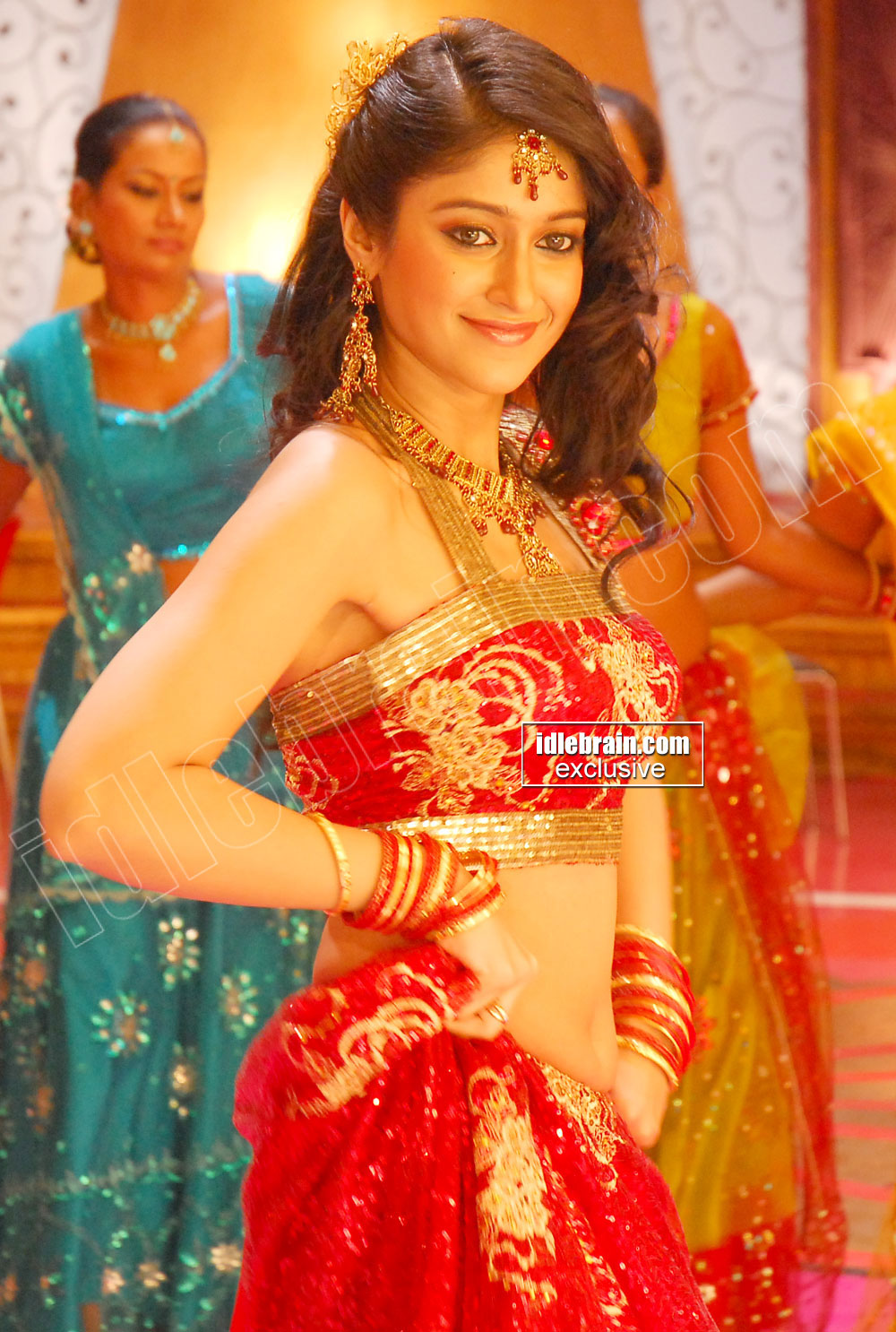 , Ileana Hot Stills in Lehnga Choli