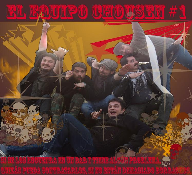 EL EQUIPO CAZADORES CHOUSEN#1