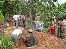 Cambodia 2009: Latrine Plans