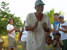 Cambodia December 2009: Cambodia Dad whose family will receive a Dream Home.