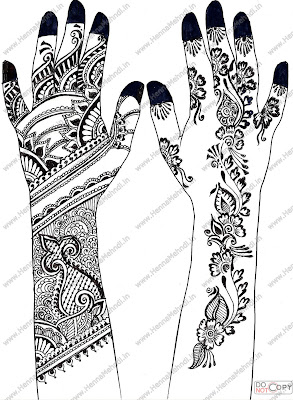 Fashionable Mehandi Designs