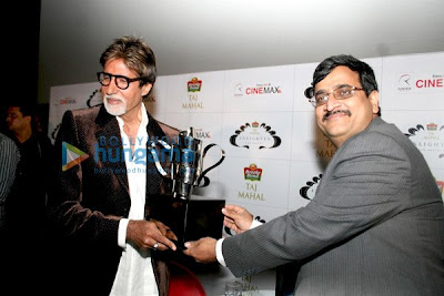 Amitabh Bachchan won The 'Taj Tareef' Award image