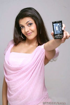 Kajal Aggarwal  New Photoshoot for Nokia Mobiles image