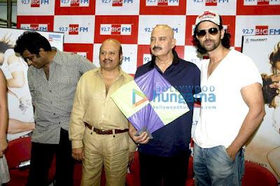 Hrithik Roshan promotes Kites at 92.7 BIG FM image