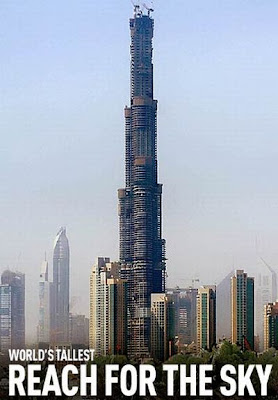 world s tallest buildings, burj dubai, times square, rockefeller center, empire strikes back