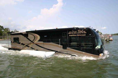Amphibious, Water Bus, Dubai
