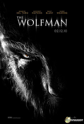 hollywood, movie, poster, The wolfman