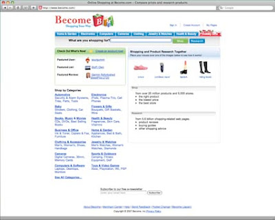 become.com is online shoping site