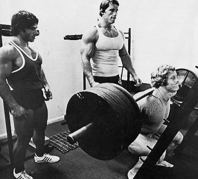 arnold schwarzenegger bodybuilding workout