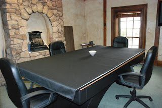 TCS Advertising Public Relations April - Pool table conference room table