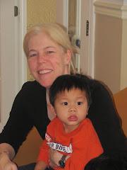 Alexandre (2 ans 4 mois) et Chantal