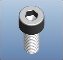 Creare un'impronta esagonale in 3D (Pro/ENGINEER 2001)