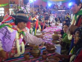 DELEGACION PERUANA E INTERNACIONAL EN COLOMI