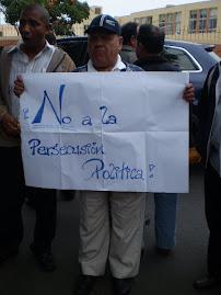 CONFERENCIA Y PLANTON EN RESPALDO A PIZANGO