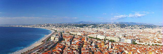 Nice: sea - beach - metropole