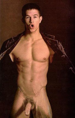 Whether he's naked or not, Mark Wahlberg aka Marky Mark is yummy.