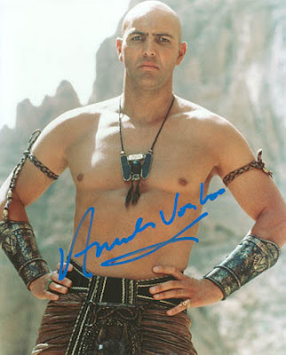 Hey look, it's the bald and sexy bad guy from The Mummy movies.