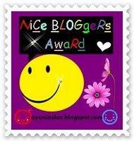 Nice Bloggers Award