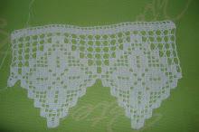 6ª- Toalha branca em crochet!!