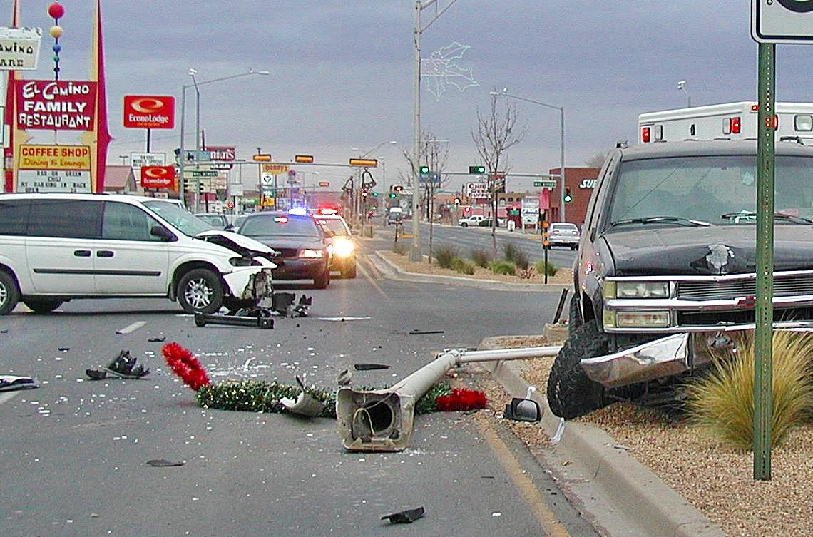 Accident On California Street