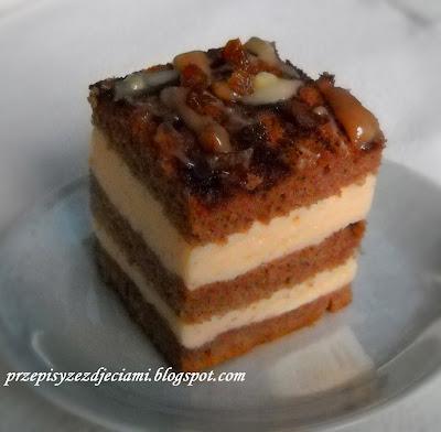 ciasto pianka karmel