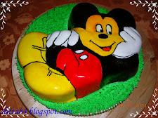 Miki egér torta