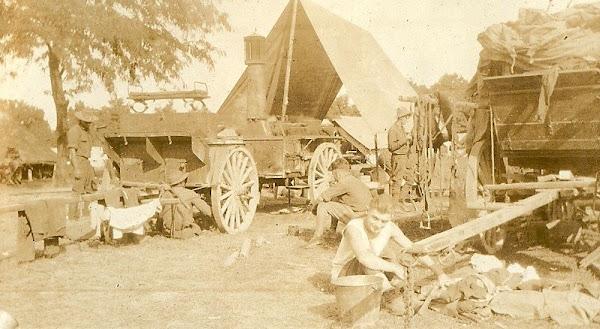 World War I training camp in Carrollton, KY