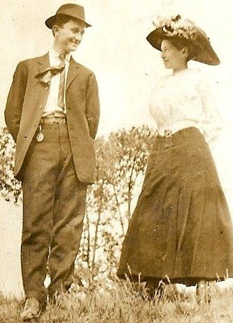 Courting in 1910