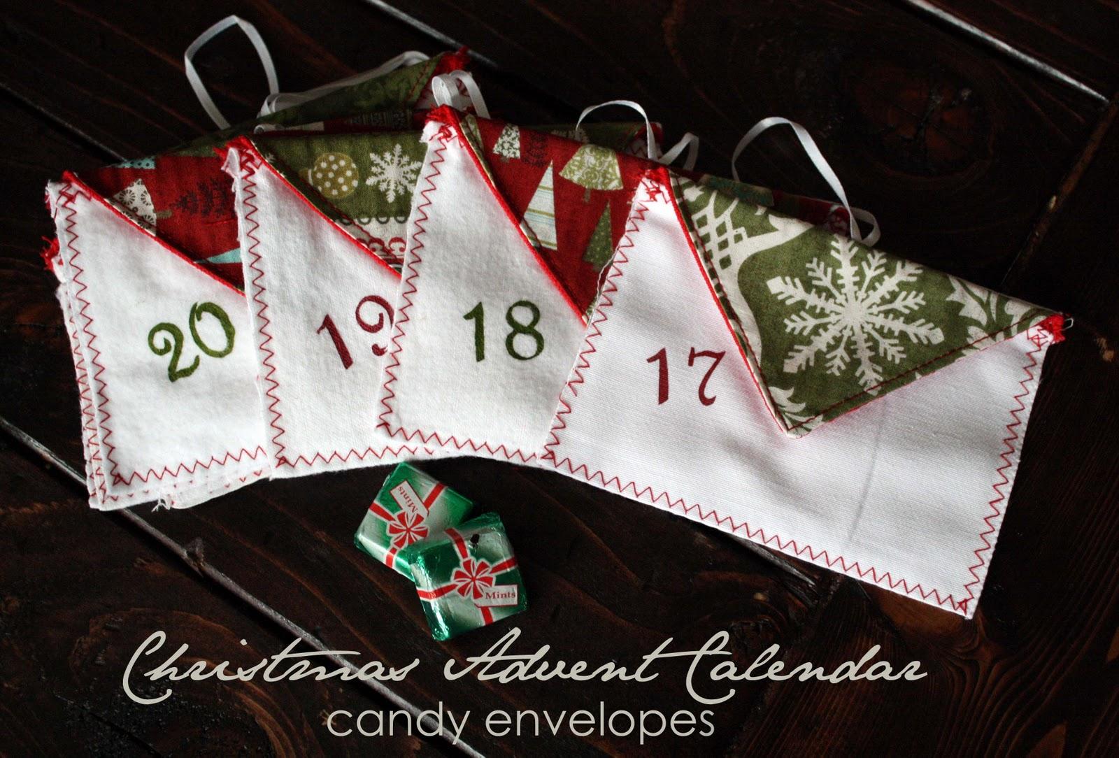 Advent Calendar Envelopes Ideas : Running with scissors advent calendar envelopes