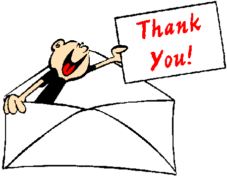 thank you notes sample. thank you letter after