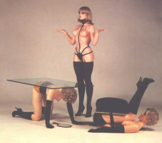 human furniture