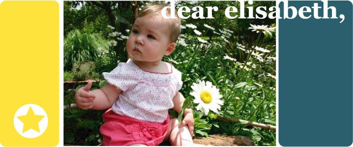 dear elisabeth,
