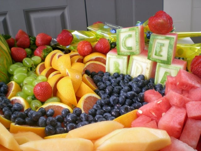 baby shower fruit platter ideas baby shower ideas