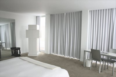 St Martin's lane hotel room