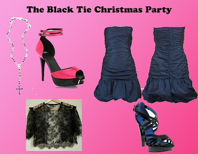 black tie christmas party
