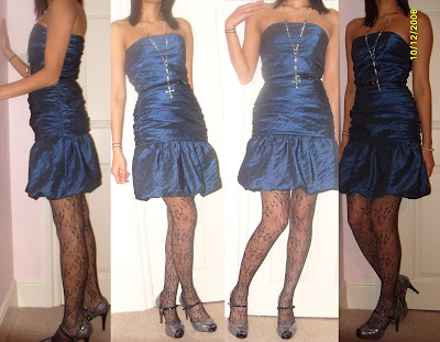 blue dorothy perkins dress