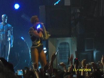Rihanna Brixton Concert