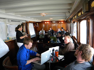 OWEA Summit in progress onboard the Delta Queen