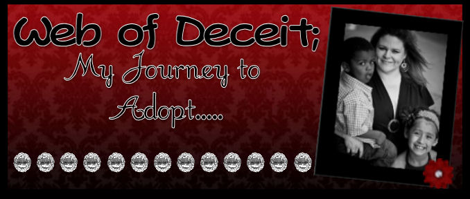 Web Of Deceit; My Journey to Adopt